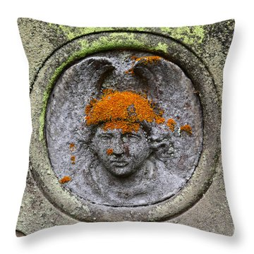 Hair Transplant Throw Pillow by James Brunker