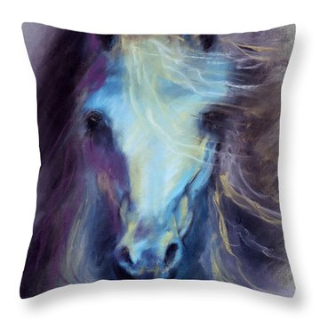 Halcyon Throw Pillow by Kim McElroy