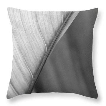 Half And Half Throw Pillow by Sabrina L Ryan