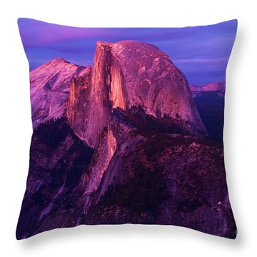 Half Dome Glow Throw Pillow