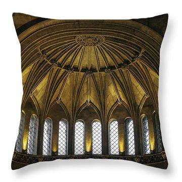 Half Dome Throw Pillow by Lynn Palmer