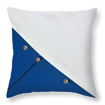 Half Pipe Abstract 4 Throw Pillow