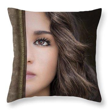 Half Remembered Dream Throw Pillow by Evelina Kremsdorf