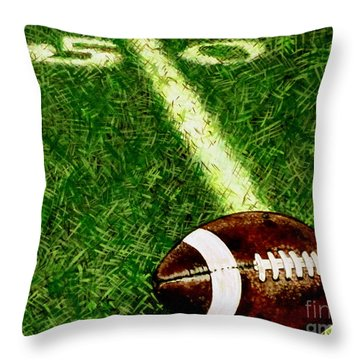 Halfway There  Throw Pillow