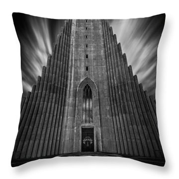 Hallgrimskirkja Throw Pillow