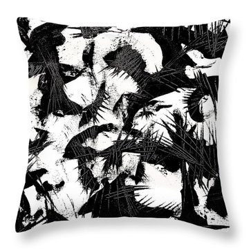 Halloween Calling Throw Pillow by Expressionistart studio Priscilla Batzell