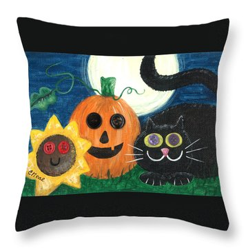 Halloween Fun Throw Pillow