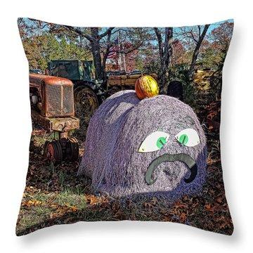 Halloween Junk Throw Pillow