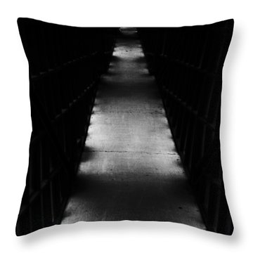 Hallway To Nowhere Throw Pillow