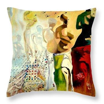 Halucinogenic Toreador By Salvador Dali Throw Pillow