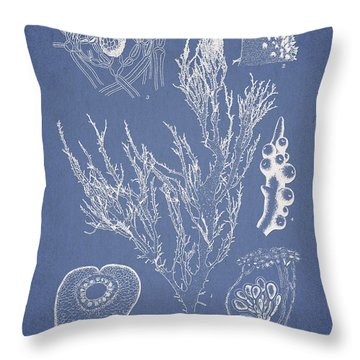 Halymenia Formosa And Eucheuma Spinosum Throw Pillow by Aged Pixel