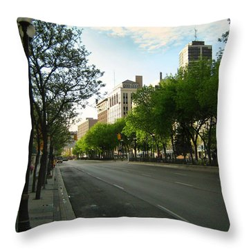 Hamilton At Dawn Throw Pillow