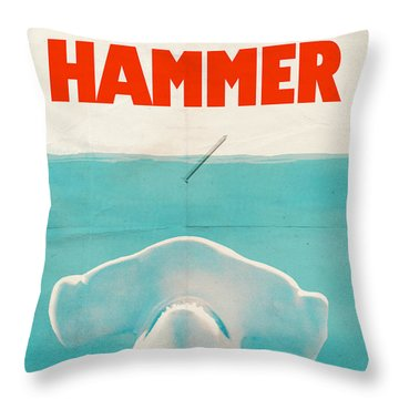 Hammer Throw Pillow by Eric Fan
