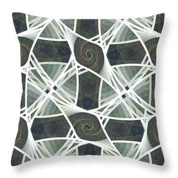 Hammock Throw Pillow by Anastasiya Malakhova