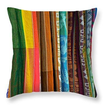 Hammock Colors Throw Pillow