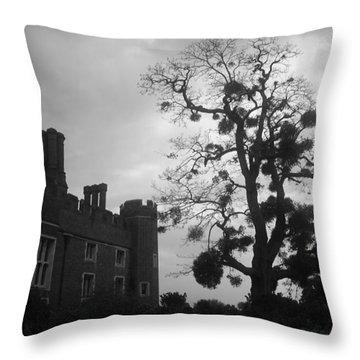 Hampton Court Tree Throw Pillow