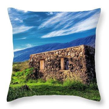 Hana Church 6 Throw Pillow