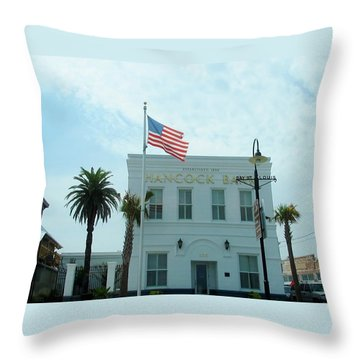 Bay Saint Louis - Mississippi Throw Pillow