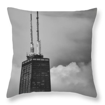 Hancock Fog Throw Pillow