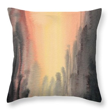 Hand In Hand Throw Pillow by Kristine Plum