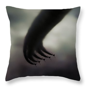 Hand Of God Throw Pillow
