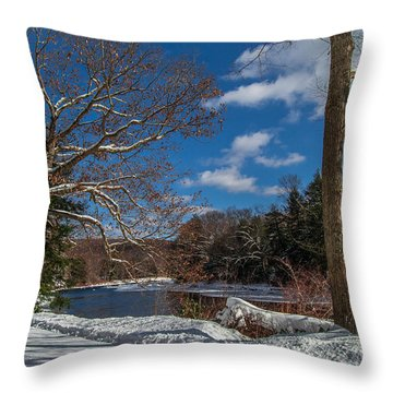 Handing Out The Sunshine Throw Pillow