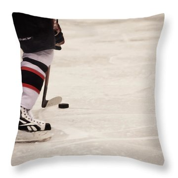 Handle It Throw Pillow by Karol Livote