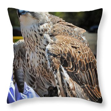 Handler Throw Pillow by Skip Willits