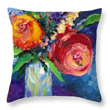 Handpicked Throw Pillow