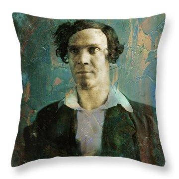 Handsome Fellow 1 Throw Pillow