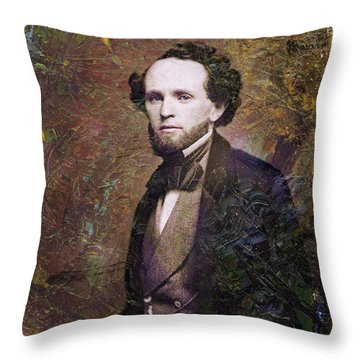 Handsome Fellow 3 Throw Pillow