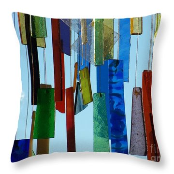 Hang Ups Throw Pillow by Jackie Mueller-Jones