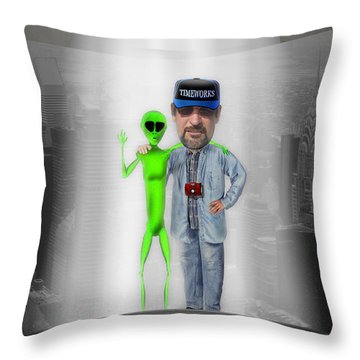 Hangin With G Throw Pillow by Mike McGlothlen