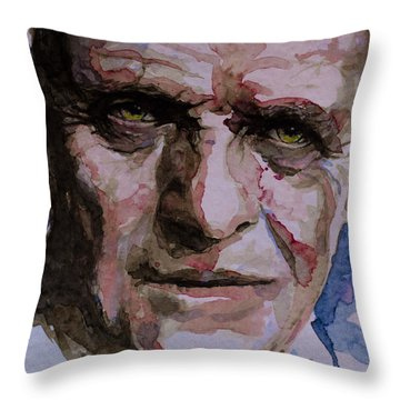 Throw Pillow featuring the painting Hannibal by Laur Iduc