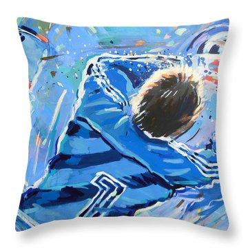 Hans Van Breukelen Ek 88 Throw Pillow by Lucia Hoogervorst