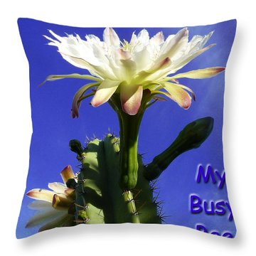 Throw Pillow featuring the photograph Happy Birthday Card And Print 13 by Mariusz Kula