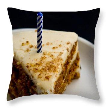 Happy Birthday Throw Pillow by Edward Fielding