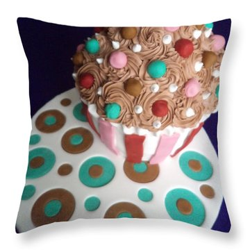 Happy Bun Day Throw Pillow