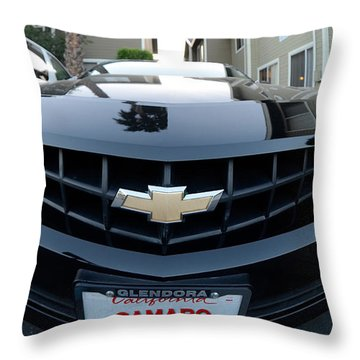 Throw Pillow featuring the photograph Happy Camero by Clayton Bruster