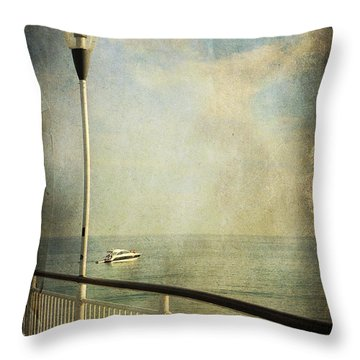 Happy Day Throw Pillow by Svetlana Sewell