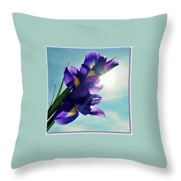Throw Pillow featuring the photograph Happy Easter  by Marija Djedovic