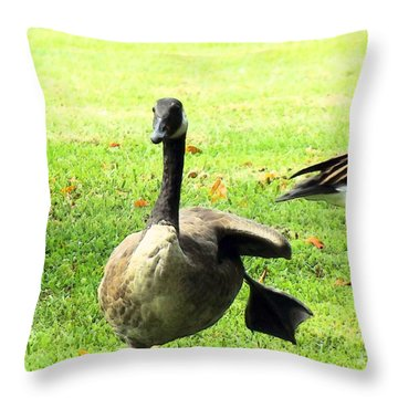 Happy Feet Dance Throw Pillow