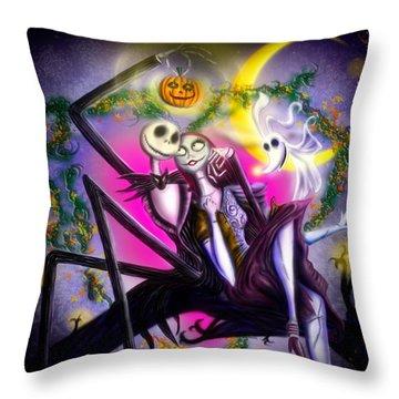 Happy Halloween II Throw Pillow