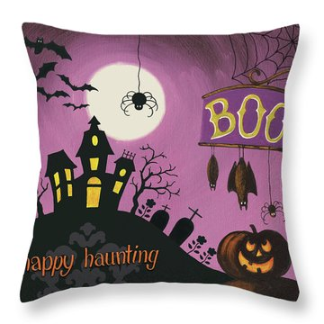 Haunted Throw Pillows