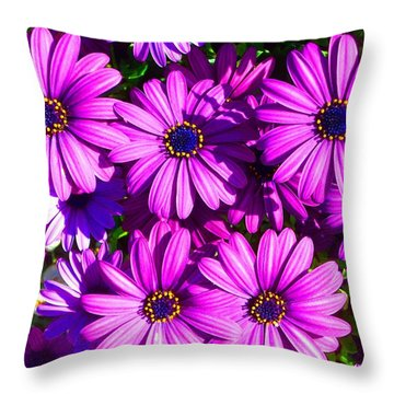 Throw Pillow featuring the photograph Happy by Julia Ivanovna Willhite