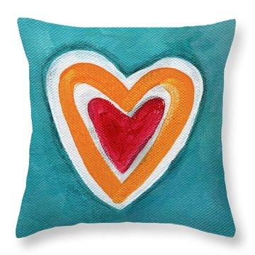 Happy Love Throw Pillow