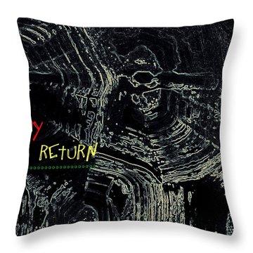 Happy Solar Return 470 Throw Pillow