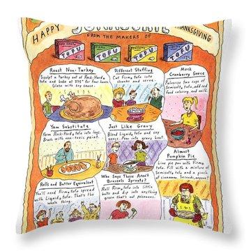 Happy Surrogate Thanksgiving Throw Pillow