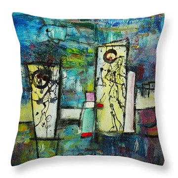 Happy Time Throw Pillow
