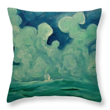 Happy Wanderer 2 Throw Pillow